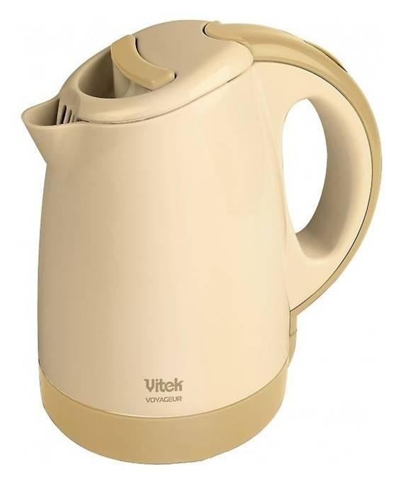 Чайник электрический Vitek VT-1134-01-Y желтый - фото 1