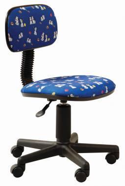 Кресло Бюрократ CH-201NX / DOGS-BL синий