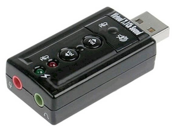 Звуковая карта USB TRUA71 (ASIA USB 8C V & V) - фото 1