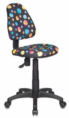 Кресло детское Бюрократ KD-4 / PLANETY черный
