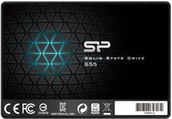 Накопитель SSD 240Gb Silicon Power Slim S55 SP240GBSS3S55S25 SATA III