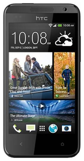 Смартфон HTC Desire 300 черный - фото 1