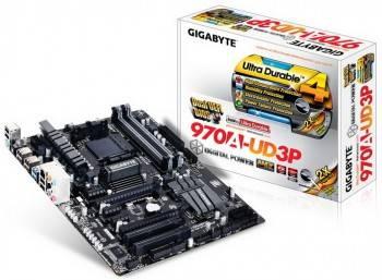 Материнская плата Soc-AM3+ Gigabyte GA-970A-UD3P ATX