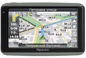 """GPS-навигатор Prology iMAP-4100 4.3"""" черный - фото 1"""