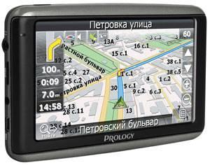 """GPS-навигатор Prology iMAP-4100 4.3"""" черный - фото 2"""