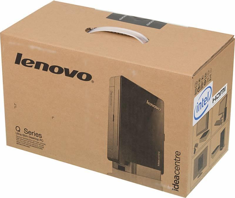 Неттоп Lenovo IdeaCentre Q190 черный/серебристый - фото 5