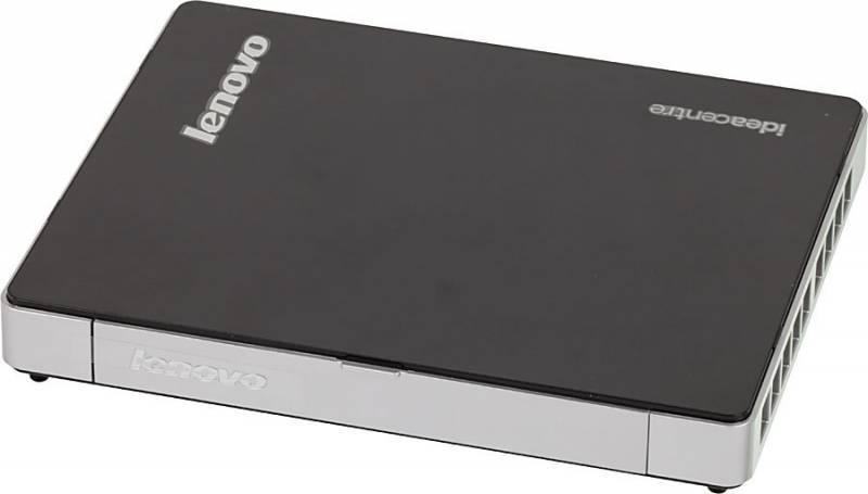 Неттоп Lenovo IdeaCentre Q190 черный/серебристый - фото 3