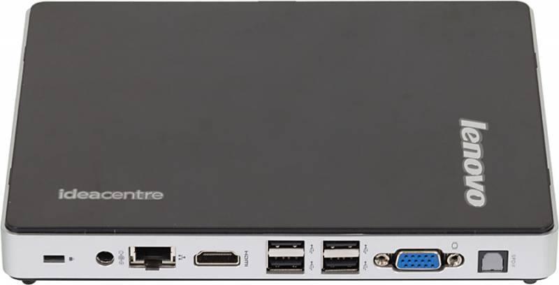 Неттоп Lenovo IdeaCentre Q190 черный/серебристый - фото 4