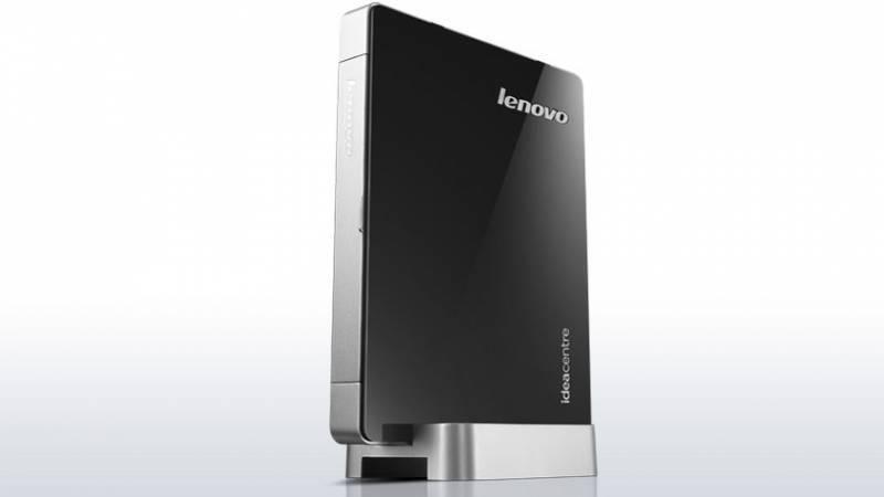 Неттоп Lenovo IdeaCentre Q190 черный/серебристый - фото 1