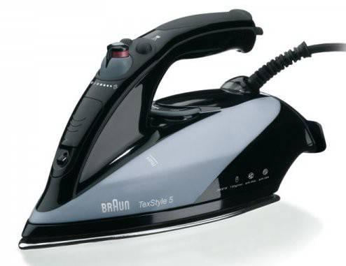 Утюг Braun TS545SА черный - фото 1