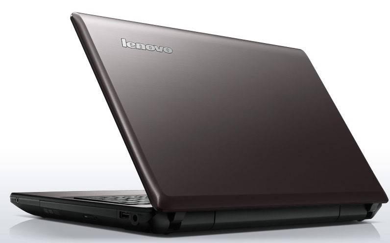 "Ноутбук 15.6"" Lenovo IdeaPad G580 темно-коричневый - фото 1"