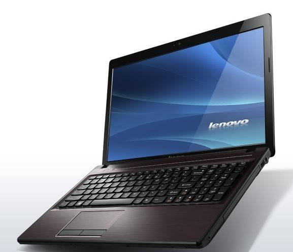 "Ноутбук 15.6"" Lenovo IdeaPad G580 темно-коричневый - фото 2"