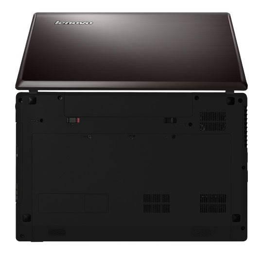 "Ноутбук 15.6"" Lenovo IdeaPad G580 темно-коричневый - фото 4"