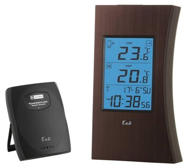 Термометр EA2 ED601 коричневый - фото 1