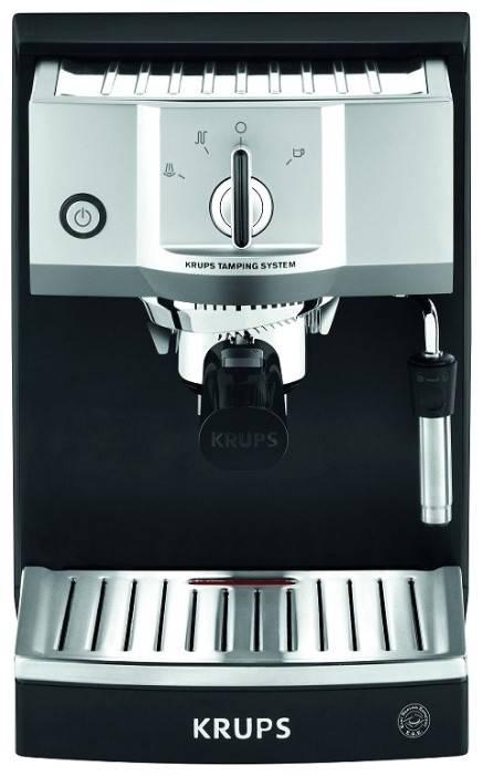 Кофемашина Krups XP562030 черный/серебристый - фото 1