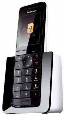 Телефон Panasonic KX-PRS110RU черный/белый (KX-PRS110RUW)