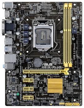 Материнская плата Soc-1150 Asus H81M-PLUS mATX
