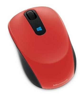 Мышь Microsoft Sculpt красный - фото 1