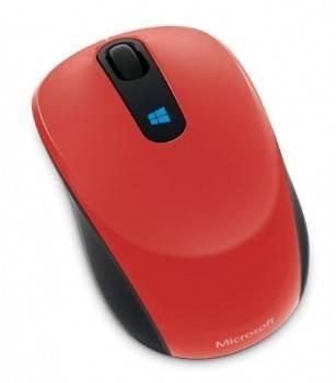 Мышь Microsoft Sculpt красный