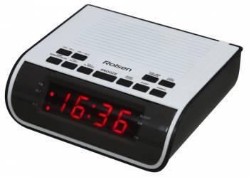 Радиобудильник Rolsen CR-100W белый