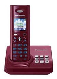 Дополнительная трубка Panasonic KX-TGA820RUR красный - фото 1