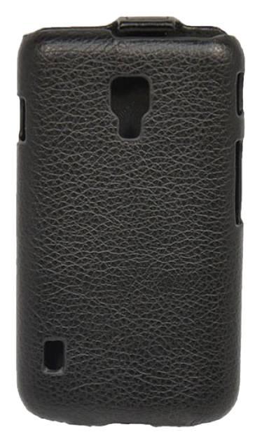 Чехол Armor-X flip full, для LG Optimus L4 II Dual, черный - фото 2