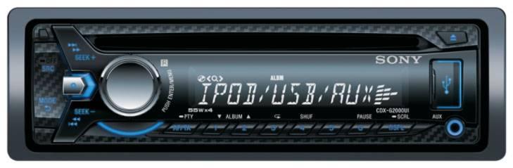 Автомагнитола Sony CDX-G2000UE - фото 2
