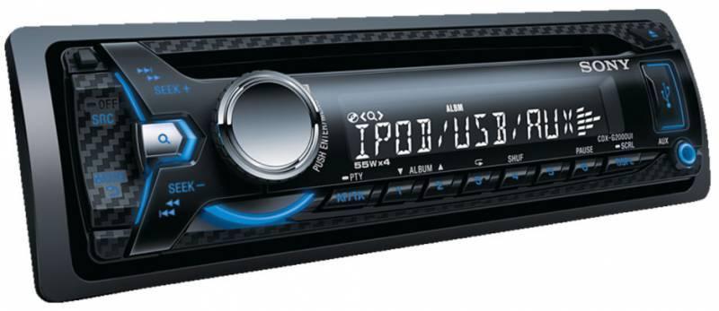 Автомагнитола Sony CDX-G2000UE - фото 3