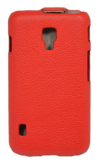 Чехол Armor-X flip full, для LG Optimus L7 II Dual, красный - фото 2