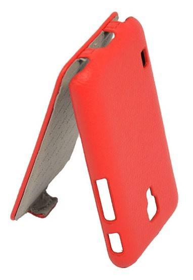Чехол Armor-X flip full, для LG Optimus L7 II Dual, красный - фото 3