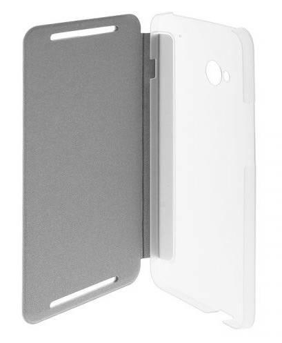 Чехол (флип-кейс) HTC HC V844 белый - фото 4