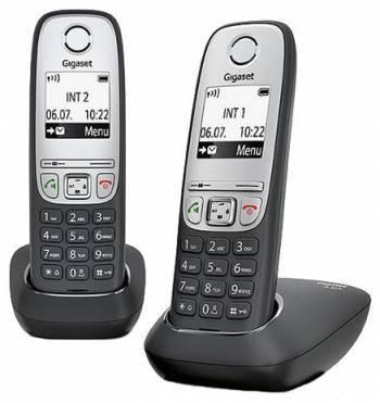 Телефон Gigaset A415 Duo черный