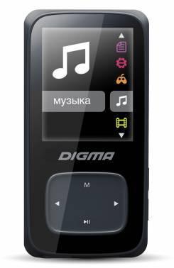 mp3-плеер 8Gb Digma Cyber 2 черный