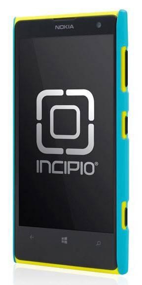 Чехол (клип-кейс) Incipio Feather (NK-175-CYN) голубой - фото 2