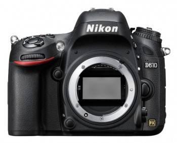 Фотоаппарат Nikon D610 черный, Body (VBA430AE)