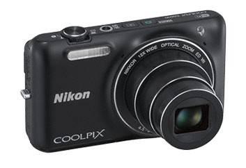 Фотоаппарат Nikon CoolPix S6600 черный - фото 1