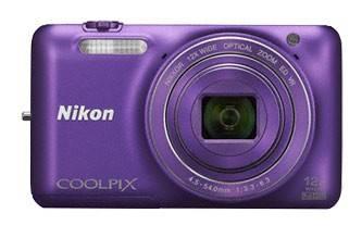 Фотоаппарат Nikon CoolPix S6600 фиолетовый - фото 1