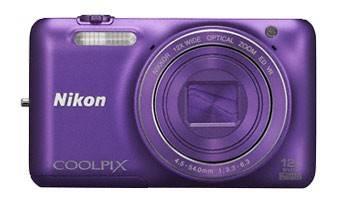 Фотоаппарат Nikon CoolPix S6600 фиолетовый - фото 2