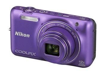Фотоаппарат Nikon CoolPix S6600 фиолетовый - фото 4