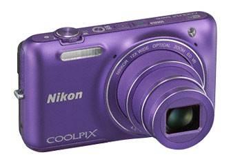 Фотоаппарат Nikon CoolPix S6600 фиолетовый - фото 5