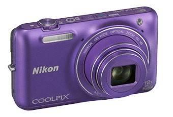 Фотоаппарат Nikon CoolPix S6600 фиолетовый - фото 6