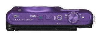 Фотоаппарат Nikon CoolPix S6600 фиолетовый - фото 7