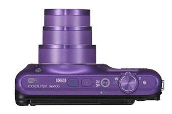 Фотоаппарат Nikon CoolPix S6600 фиолетовый - фото 8