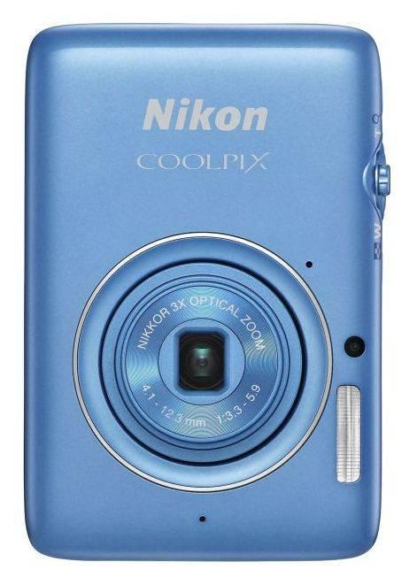 Фотоаппарат Nikon CoolPix S02 синий - фото 1