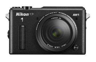Фотоаппарат Nikon 1 AW1 kit черный