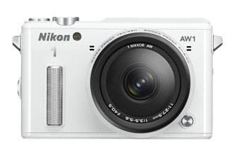 Фотоаппарат Nikon 1 AW1 kit серебристый