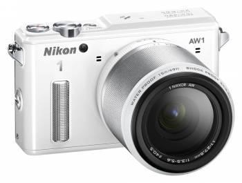 Фотоаппарат Nikon 1 AW1 kit белый