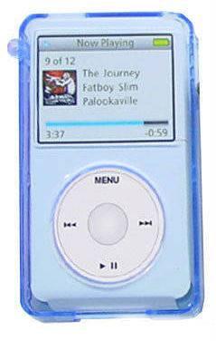 пластиковый кейс для MP3 плеера iPod Video Mediana MPouch Bl-Bl - фото 1
