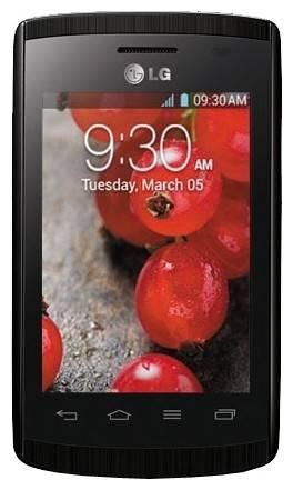 Смартфон LG Optimus L1 II Dual E420 черный - фото 1