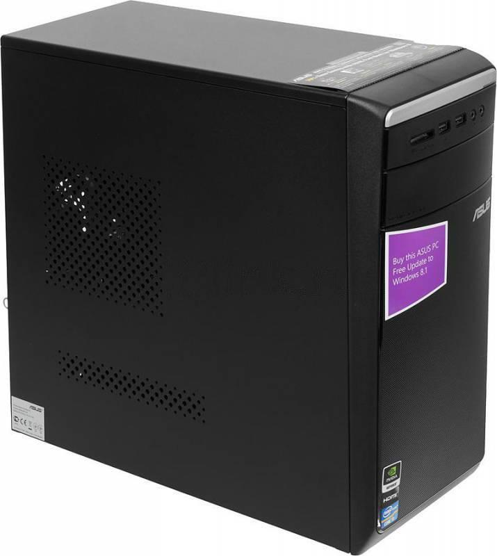 Системный блок Asus M11AA черный/серебристый - фото 1